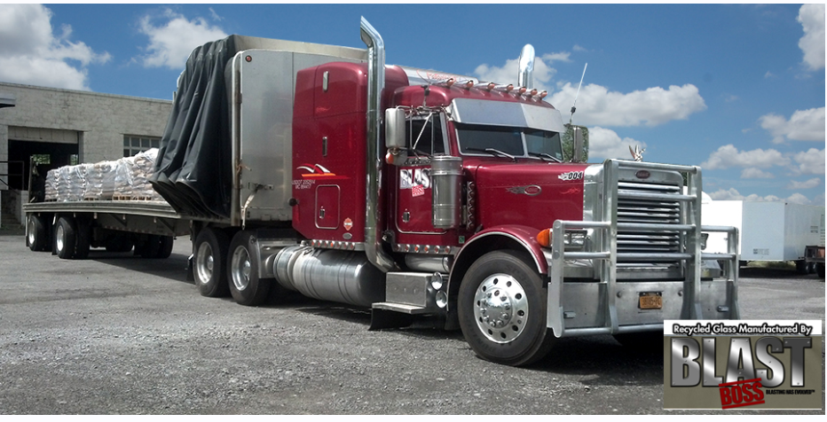 Blast Boss Trucking Fleet