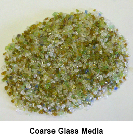 Clean Glass Media Coarse