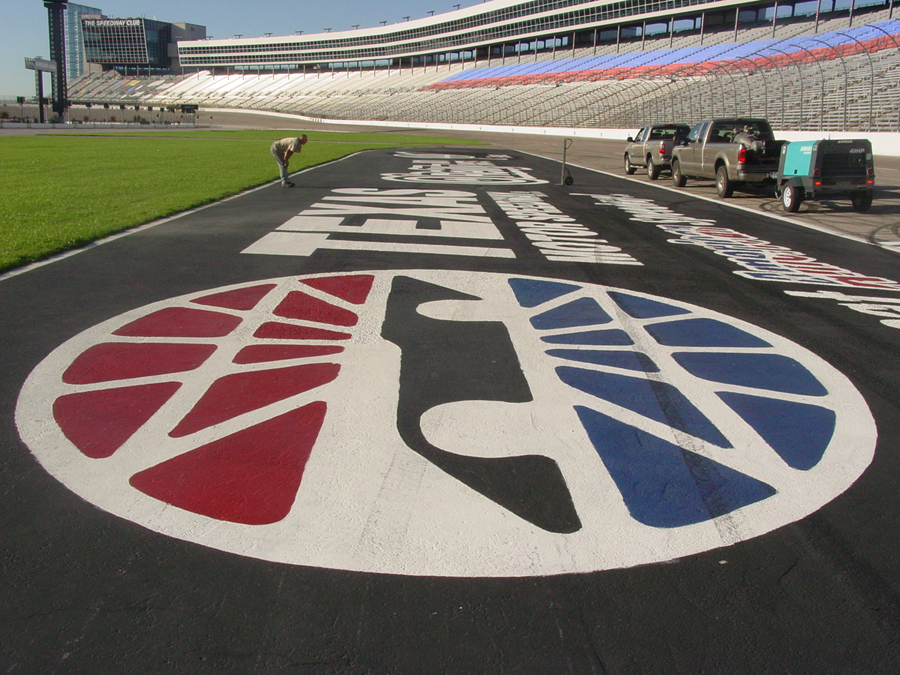 Texas Motor Speedway Blasting Project